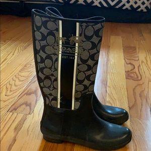 Coach Pammie Rain Boots